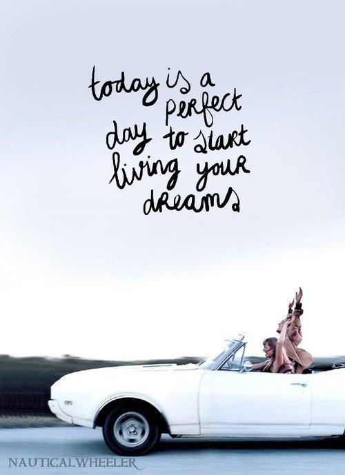 Friendship Quotes About Dreams : What s your perfect day andrew hines