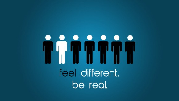 be real be yourself
